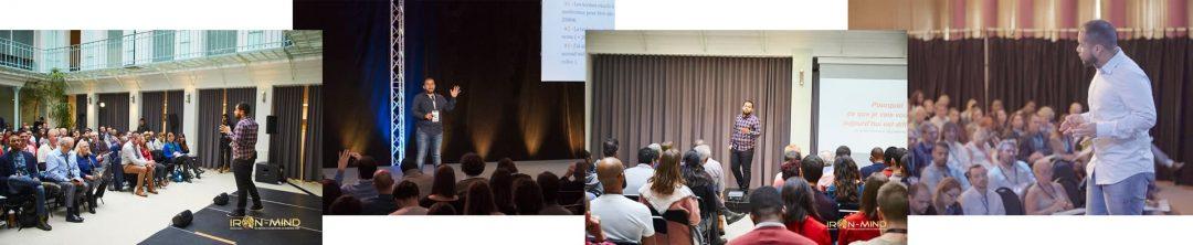 Conférences de Leandro Lozahic dans divers lieux tels que Paris