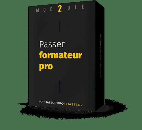 Packaging module 2 : Passer formateur professionnel