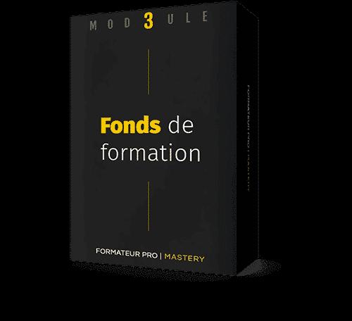Packaging module 3 : Fonds de formation