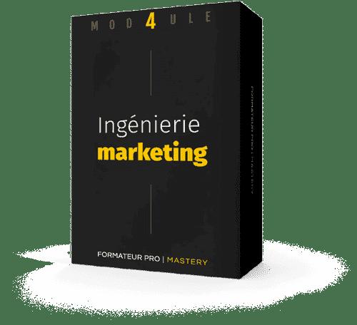 Packaging module 4 : Ingénierie Marketing
