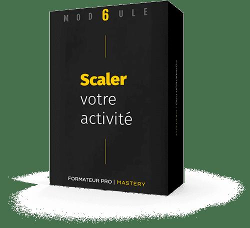 Packaging module 6 : Scaler votre activité
